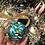 Thumbnail: Glass Ornament - Emerald 3