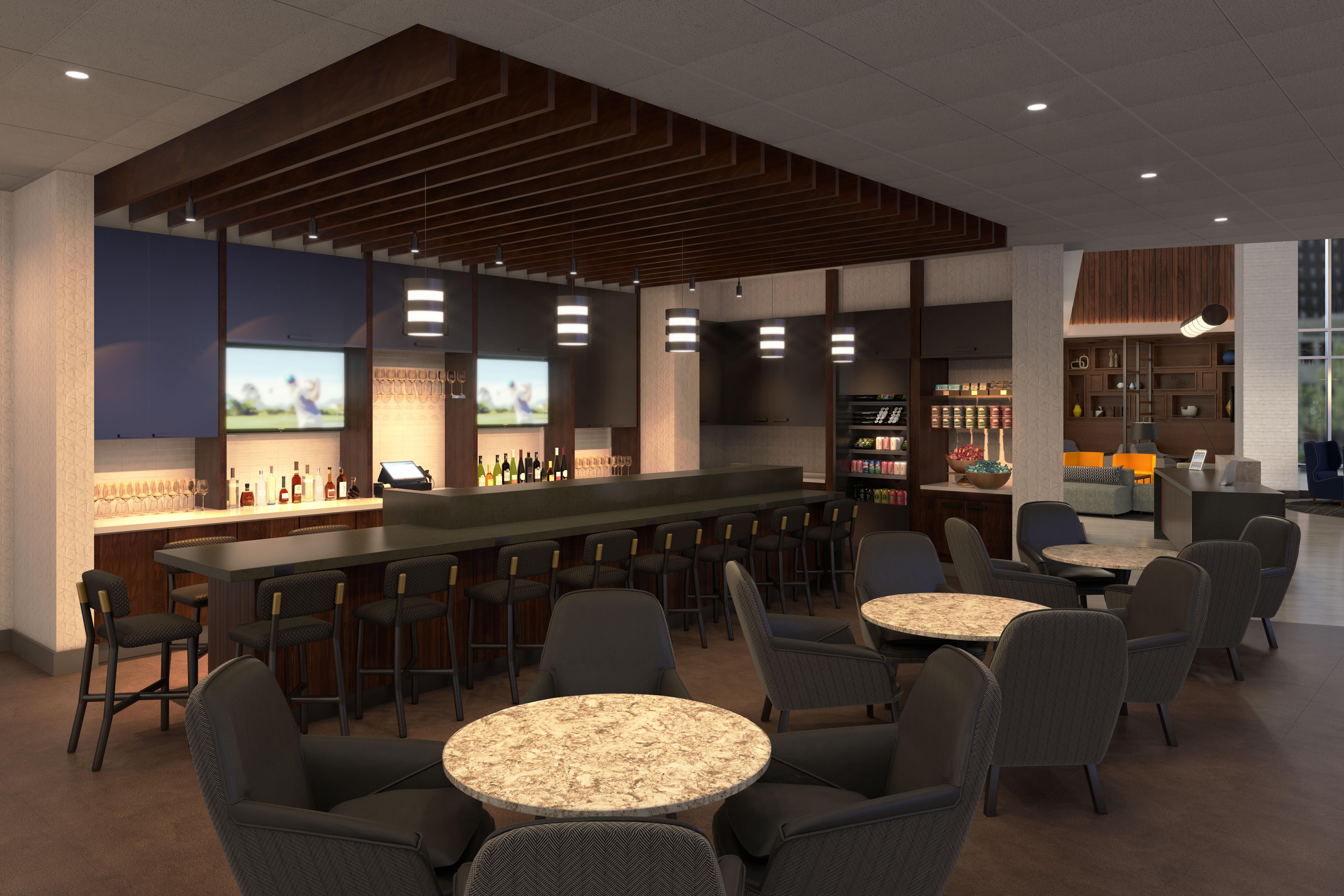 Hyatt Place Series 3 Public Space View 3 Option 2