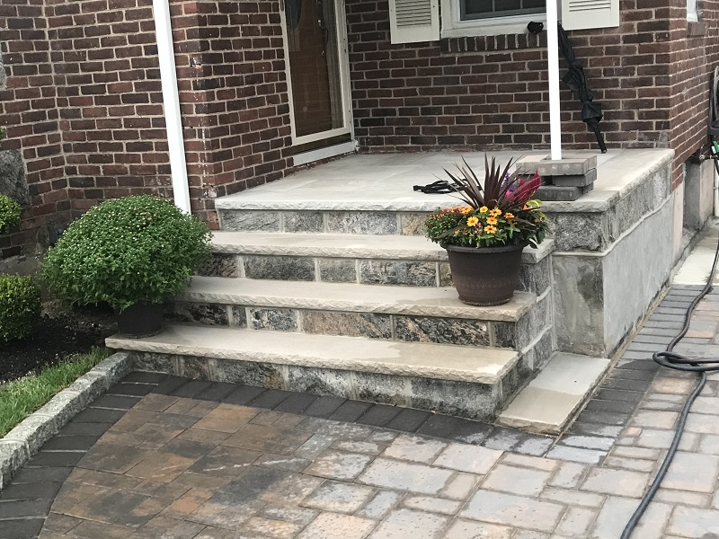 stoop paver stone contactor