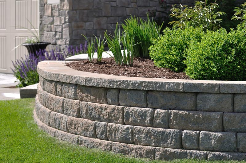 retaining walls for garden and yard