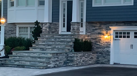 Mixed Stone Veneer Natural
