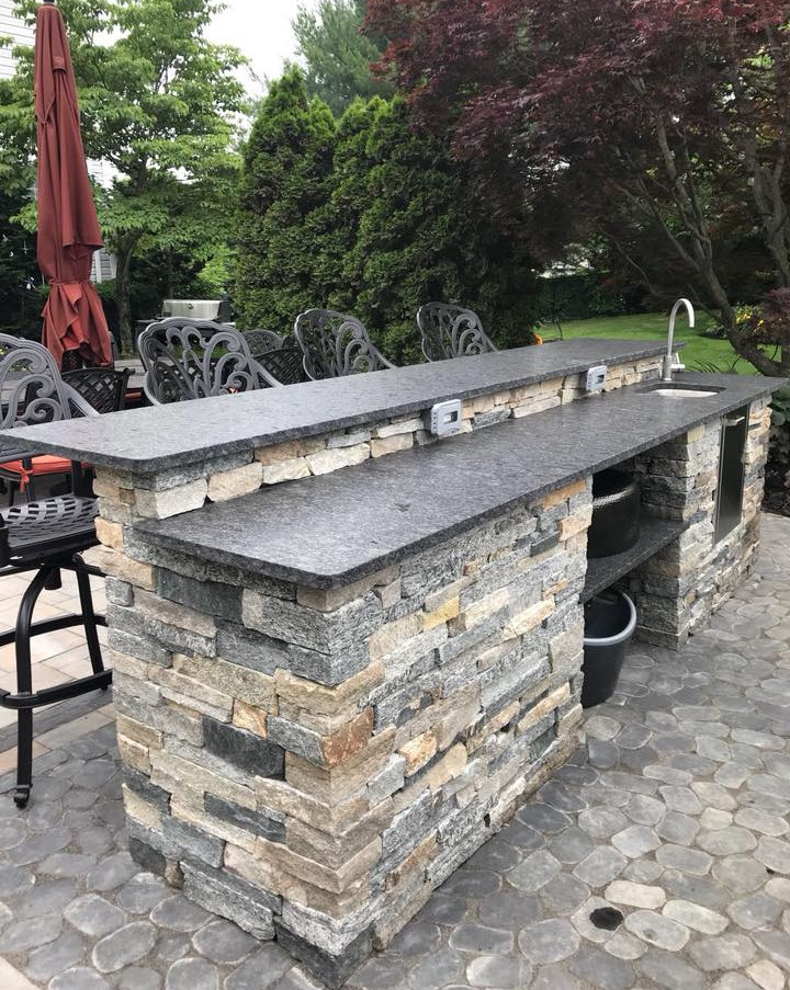 Patio Island Stone Mix