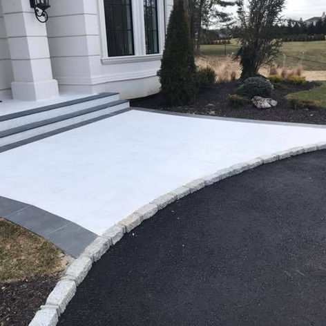 Concrete Slab Stoop
