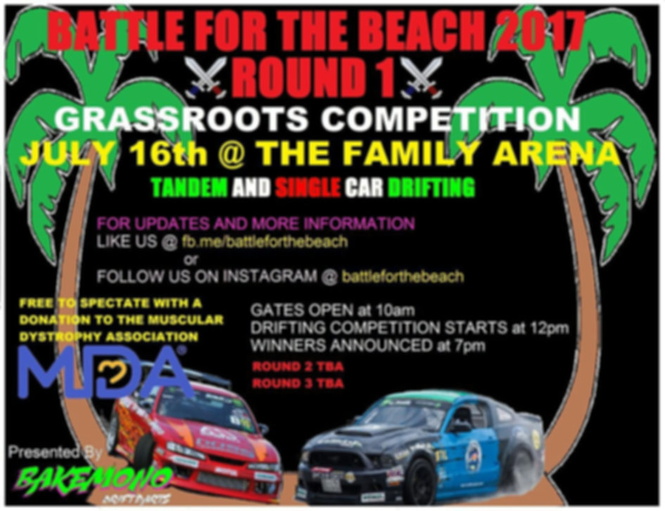 Battle for the beach 2017