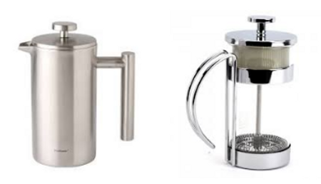 2 types of French Press