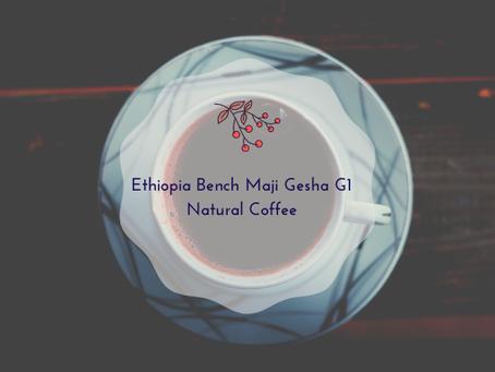 Ethiopia Bench Maji Gesha G1 Natural Coffee
