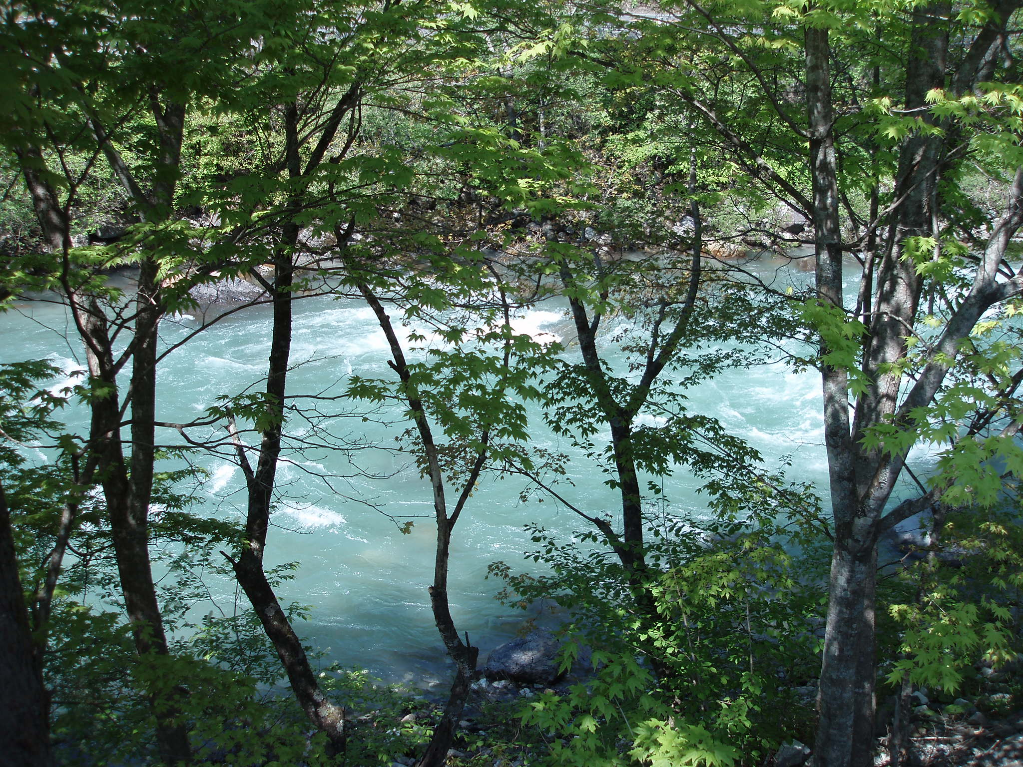 梓川の流れ