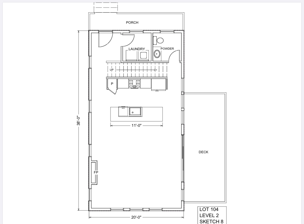 Lot 104 - $540 - Floor Plan Level 2