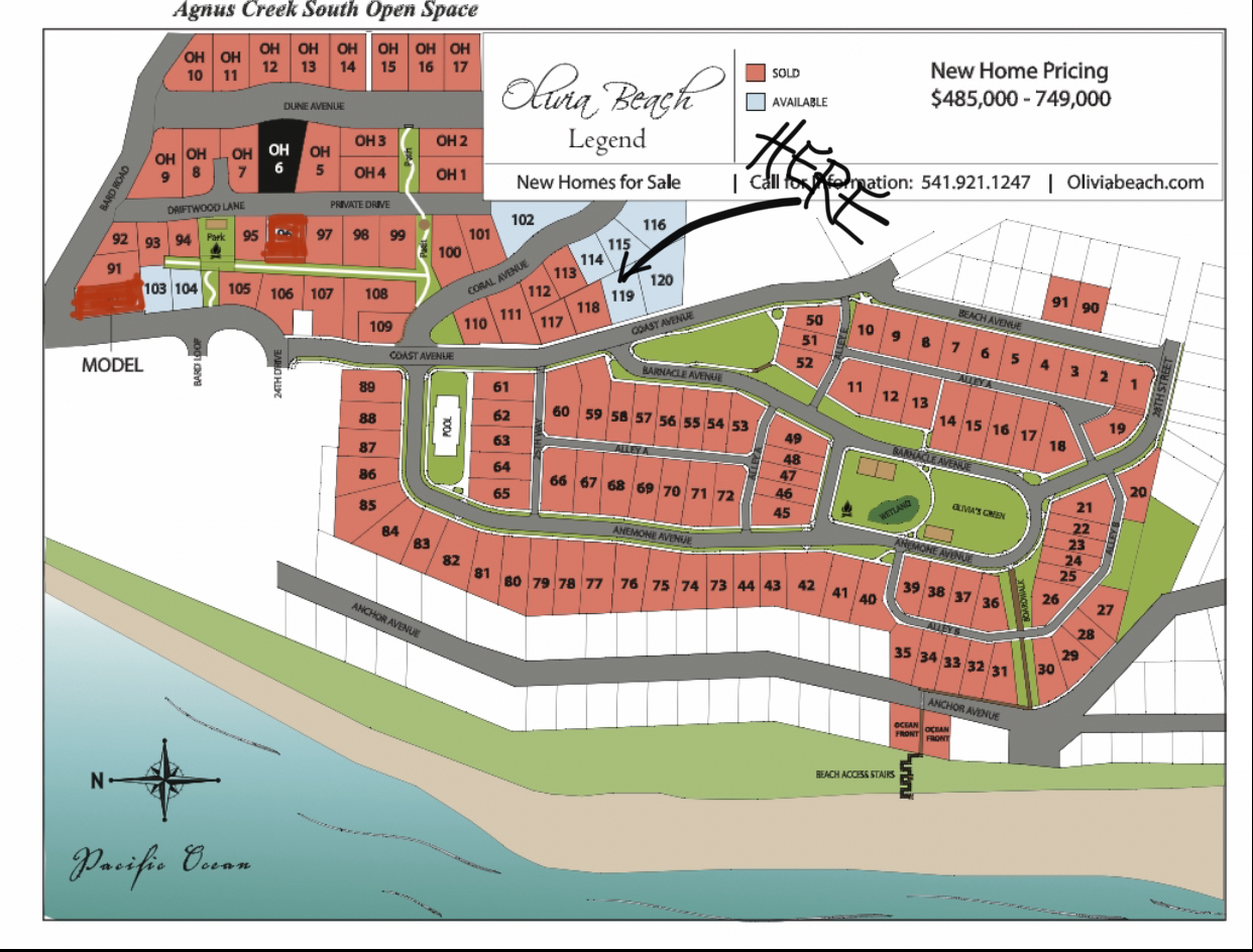 Lot 119 - Map Location