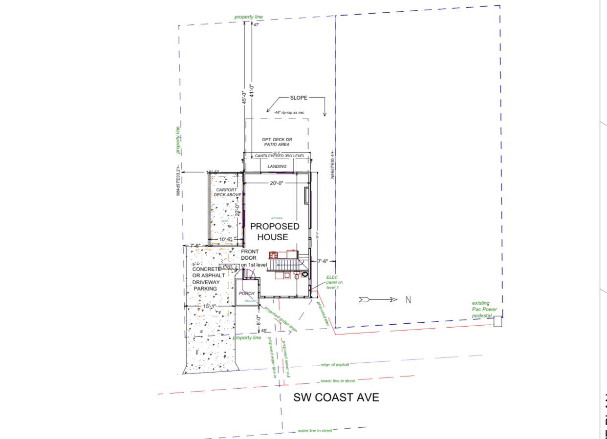 2333 SW Coast Ave - Site
