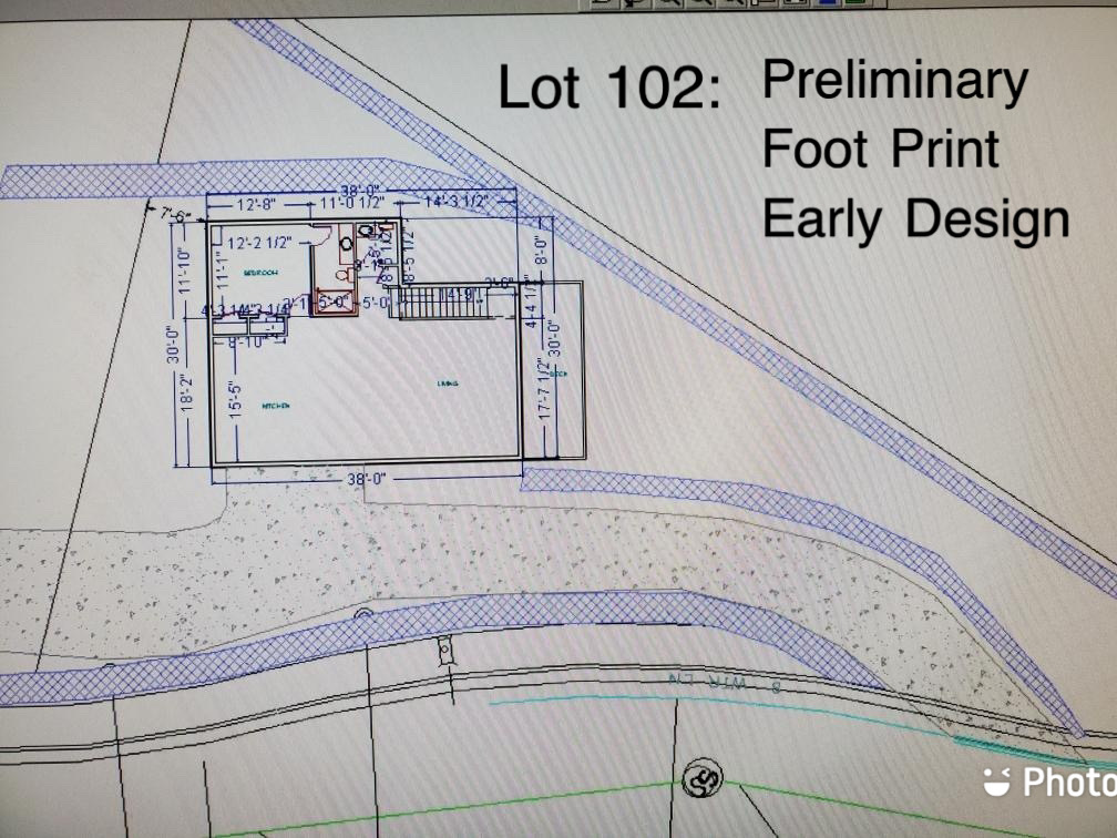 Lot 102 - Preliminary Footprint