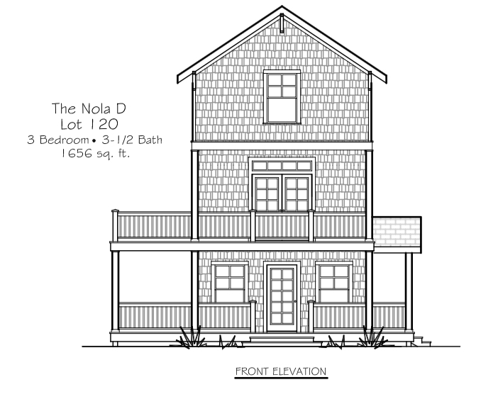 Lot 120 - Elevation