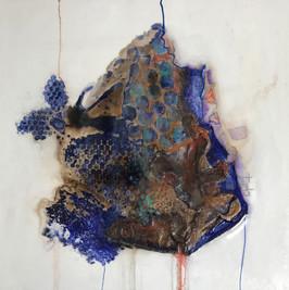 Serie - Técnica Mixta sobre tela y resina - Mayo 2017 - Medidas: 60 x 60 cada obra