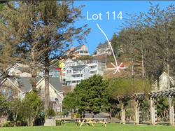 Lot 114 - Location on hill