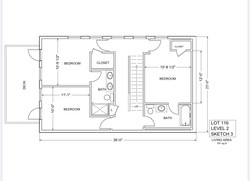 Lot 116 - Level 2 - Bedrooms
