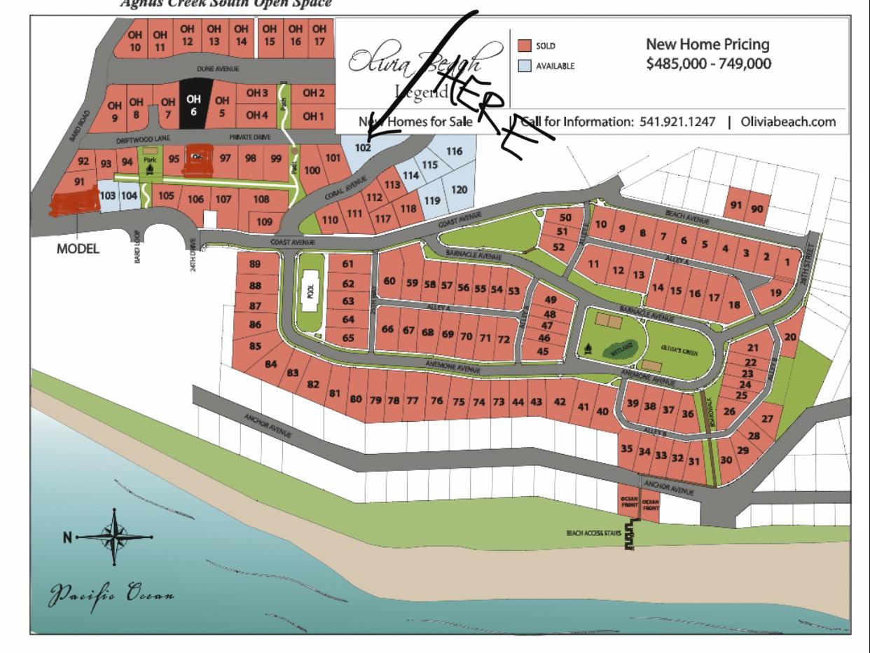 Lot 102 - Map Location