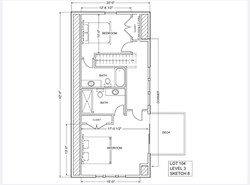 Lot 104 - $540 - Floor Plan Level 3