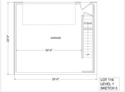 Lot 116 - Level 1 - Garage