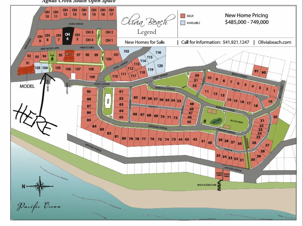 Lot 104 - Map Location