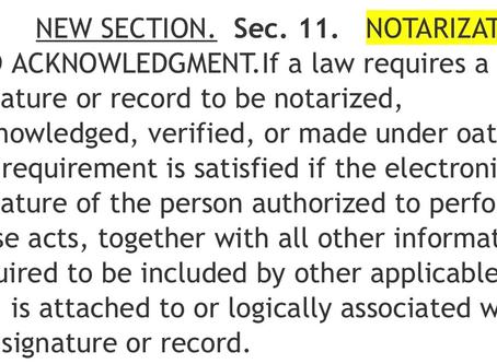 4.19.2020 Washington recognizes electronic signatures & electronic notarization