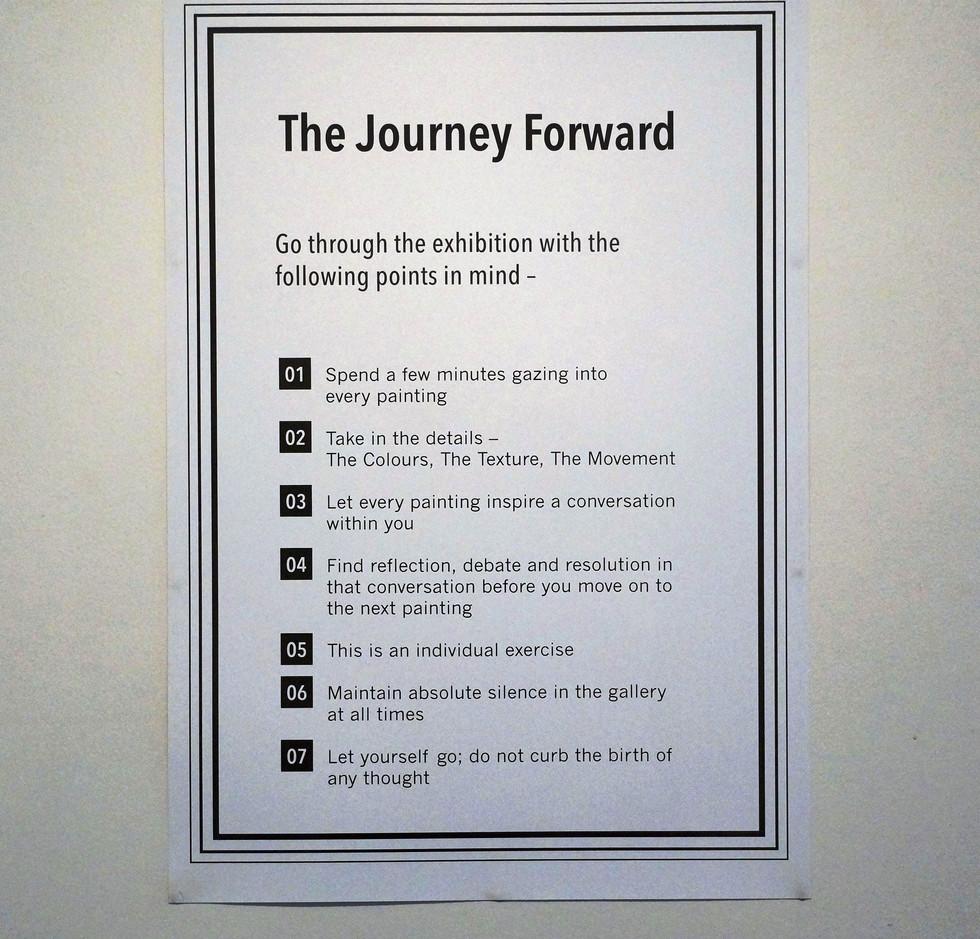 Exhibit Experience Steps