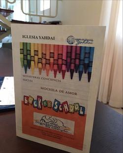 Back to School - Iglesia de Dios M.B. Yahdai