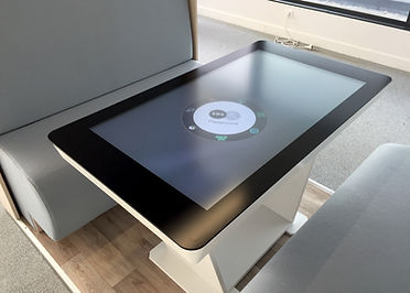 HUDL Touch and Connected Table