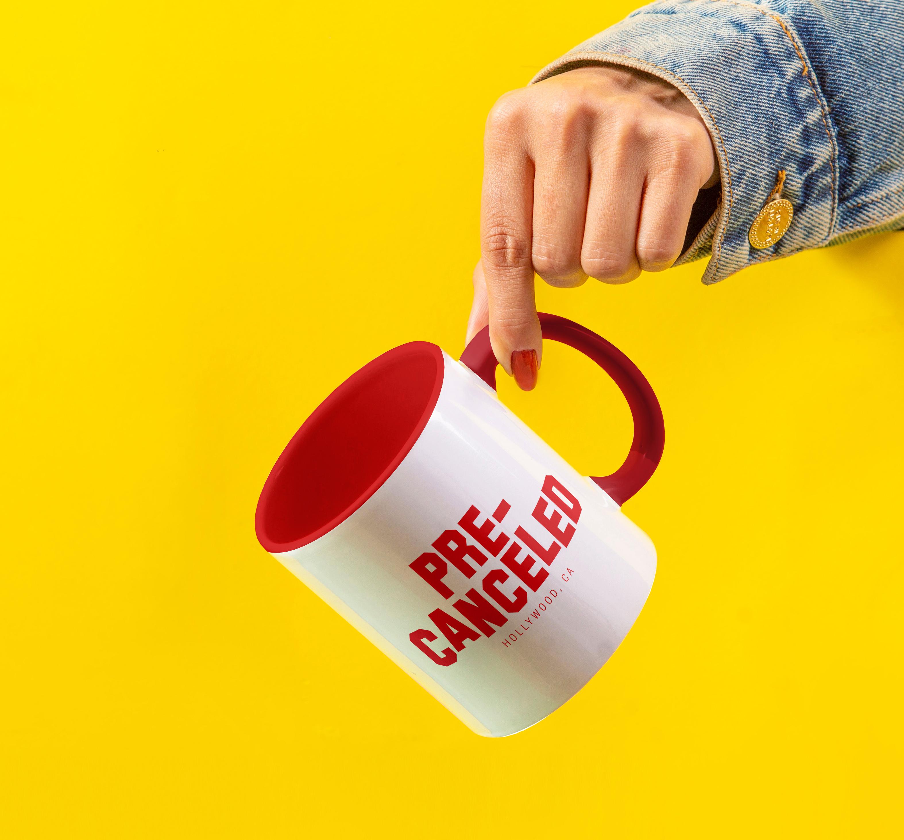 Hand Holding Coffee Mug Mockup copy
