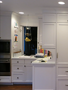 kitchen design, kitchen pass thru