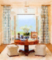 custom window treatments and design in new canaan ct