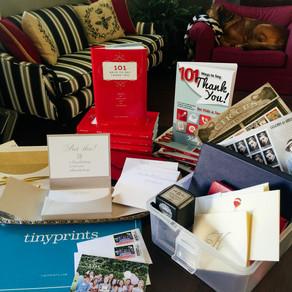 DIY: The Thank-You Note Box              Spread Gratitude