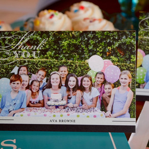 7 Effortless Tips for Writing the Perfect Kid's Birthday Party Thank-You Note! www.tinyprints.com