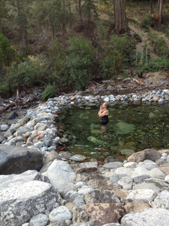 praying in the river