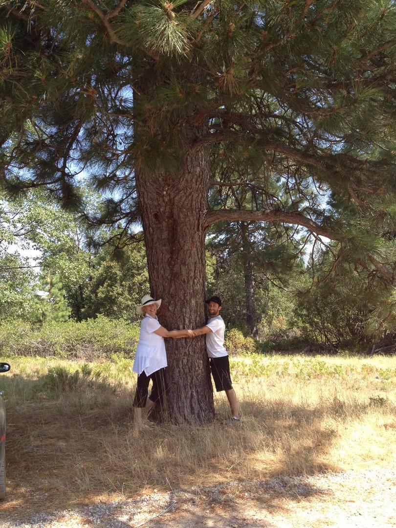 Hugging the Grandmother