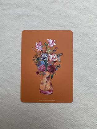"""Postkarte """"April First Blumenstrauß"""""""
