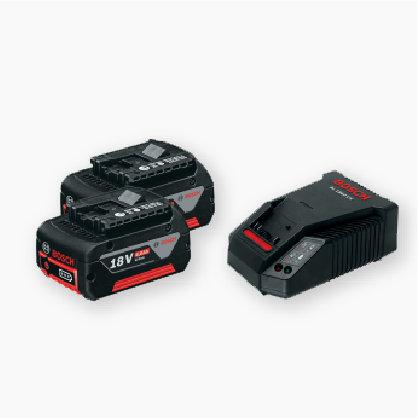 Starter Kit 18V 4.0 Ah (2 Batteries) + GAL 1860 CV (1 Charger)