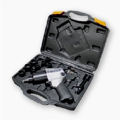 """ROTAKE 14 pcs 1/2"""" Air Impact Wrench With Socket Kits"""
