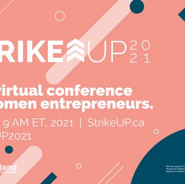 StrikeUP - Digital Conference for Women Entrepreneurs
