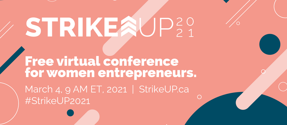 StrikeUP - Digital Conference for Women Entrepreneurs