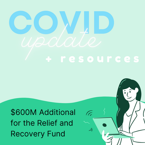 UPDATE: Government Announced An Additional $600 Million For the Relief and Recovery Fund