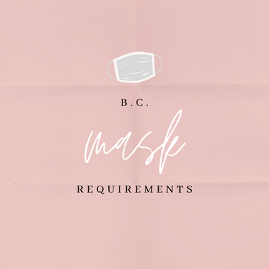 B.C. Mask Requirements