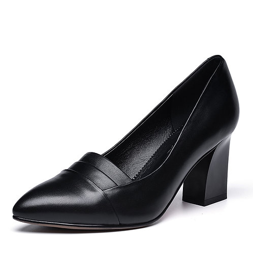 Universe Block Heel Career Pump (Women)