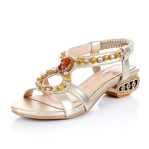 Universe Embellished Slingback Sandal (Women)