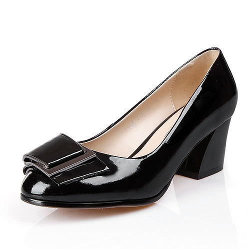 Universe Block Heel Career Pump (Women)