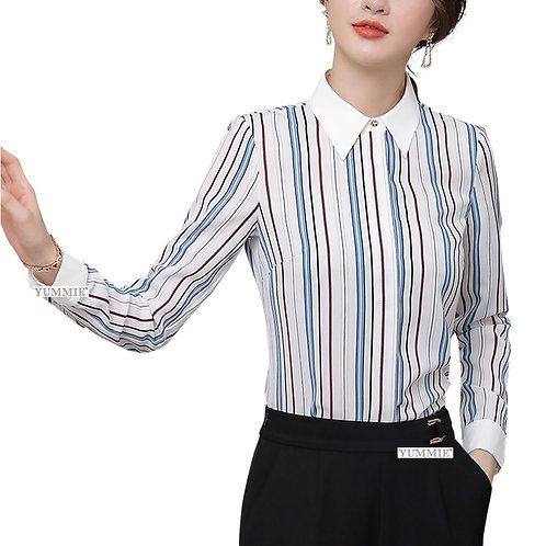 Lenlot Striped Button-Front Shirt