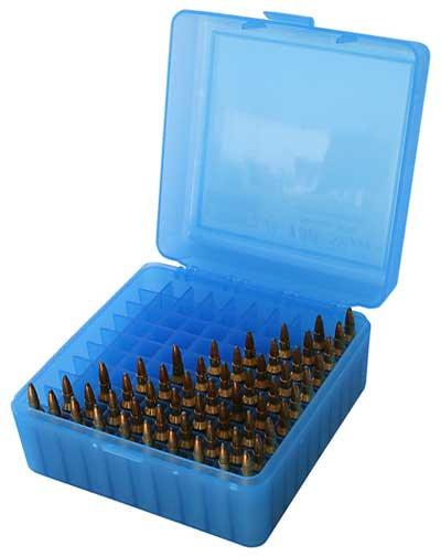 Caja x 100 balas calibre 223/222 azul