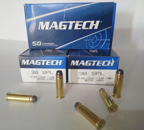 Municion 38SPL,Marca: Magtech