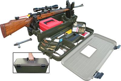 Caja de limpieza y tiro poligono