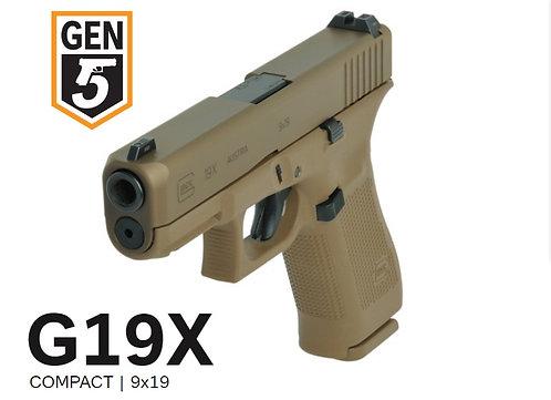 Glock 19x, Cal. 9x19mm