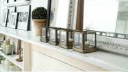 Mini Mantel Makeovers